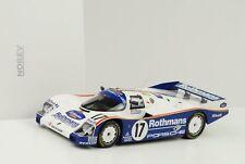 1987 Porsche 962 C #vainqueur De 17 24h Le Mans Cloche Pièce Holbert 1:18 Norev