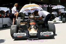 Jody Scheckter Wolf WR1 Brazilian Grand Prix 1978 Photograph