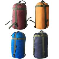 Camping Sleeping Bag Compression Stuff Sack Leisure Hammock Storage Packs #Z