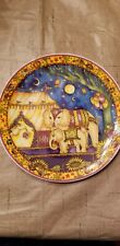 "Royal Doulton Porcelain Plate ""Circus of the Moon"" Party Time,Limited edition"