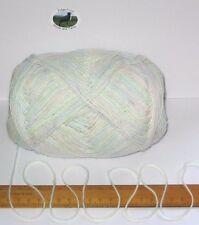 95g balle bébé vert bleu rose fin double laine à tricoter dk fil acrylique doux