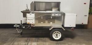 NSF HOT DOG CALIFORNIA MOBILE FOOD CART CATERING TRAILER KIOSK STAND