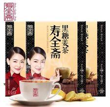 3 boxes 壽全斋黑糖姜茶 black sugar ginger tea health and beauty tea 360g
