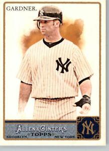 2011 Allen & Ginter #346 Brett Gardner- New York Yankees