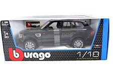 Bburago Range Rover Land Rover Sport Black New Box 1/18 Diecast cars