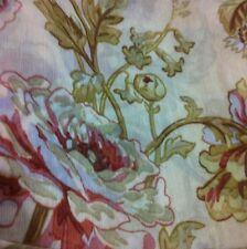 ❤️American Living Ralph Lauren Scarf Valance Georgiana Parchment Floral Roses