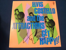 ELVIS COSTELLO SIGNED RECORD LP IN PERSON COA!