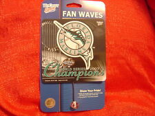 Florida Marlins Window Sign w/suction cup MLB 03 Champs