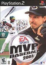 MVP Baseball 2003  (Sony PlayStation 2, 2003)