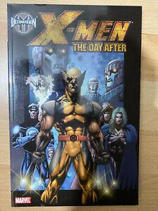 Decimation X-Men The Day After paperback tpb graphic novel Marvel claremont