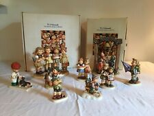 New ListingM J Hummel Goebel Figurines Vintage Lot of 9/No Chips/Good Condition