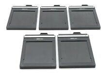 [EXC+++++] Fidelity Elite 4×5 inch Large format Cut Film Holder ×5 From Japan