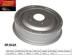 Brake Drum Front Best Brake GP8124