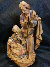 "Vtg Fontanini Simonelli Italy #800 Depose Holy Family 7.5"" figurine *Rare"