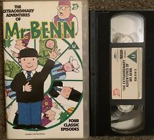 THE EXTRAORDINARY ADVENTURES OF MR BENN VOL 2-VHS VIDEO SMALL BOX CHANNEL 5.