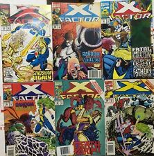 X-FACTOR lot (6) issues #83 #88 #92 #95 #99 #102 (1992-1994) Marvel Comics FINE-