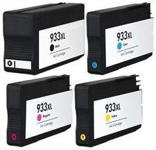 4 NON-OEM INK CARTRIDGE 932XL 933XL HP OFFICEJET 6600 6700 6100 7110 7510 7610