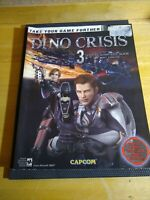 DINO CRISIS 3 BRADYGAMES OFFICIAL STRATEGY GUIDE