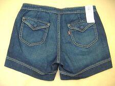 New w/ Tags Women's Misses size 4 Low Rise 545 Snap Pocket Denim Jean Shorts
