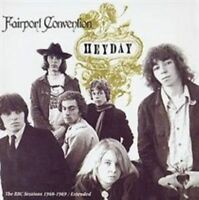 FAIRPORT CONVENTION Heyday CD BRAND NEW The BBC Sessions 1968-1969/Extended