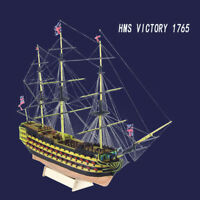 HMS Victory 21'' 1765 Wooden Sailing Boat Model DIY Kit Ship Decoration Gift Man