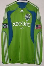 MLS Seattle Sounders Adidas 2009 Fredrik Ljungberg Player Issue LS Soccer Jersey