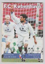 Orig.PRG   EC 2  1998/99   FC KOPENHAGEN - CHELSEA FC  1/8 FINALE  !!  SELTEN