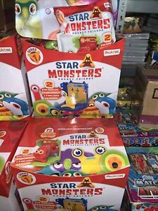 Star Monsters Pocket Friends Fusion Full Box 12 Bags Min Capsules BRAND NEW