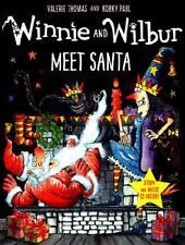 Winnie and Wilbur Meet Santa by Valerie Thomas, Korky Paul (illustrator)