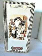 "NEW in BOX 16"" Fabric Santa Grandeur Noel 2001 Figurine Christmas Decor"