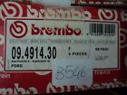 B546 BREMBO 09.4914.30 COPPIA DISCHI FRENO ANTERIORI FORD ESCORT MKIII 3