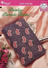 Paisley Parade Purse Plastic Canvas Pattern TNS NEW - 30 Days To Shop & Pay!