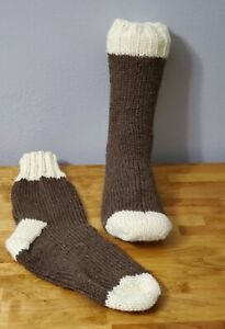 hand knitted wool socks Socks mens socks large socks