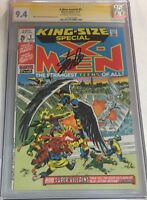 Marvel X-men Annual #2 Signed by Stan Lee CGC 9.4 SS Tough in High Grade!