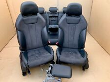 Audi A4 B9 8W S-Line Alcantara S4  Lederausstattung Leather Seat Leder Sitze