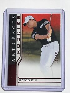 2021 Upper Deck Artifacts Rookies Si Woo Kim RC Red Parallel /199 🔥