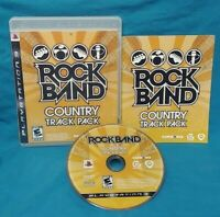 Rock Band: Country Track Pack - Sony PlayStation 3 PS3 Game Complete Working