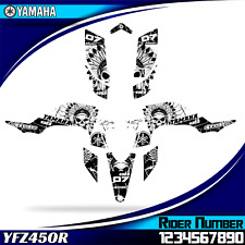 yamaha yfz 450r yfz450 2003 2004 2005 2006 2007 2008 decals graphics stickers