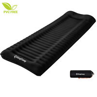 KingCamp I-BEAM Single Inflatable Compact Sleeping Mats Built-in Pillow Camping