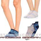 Stella McCartney adidas Sport Ancle Socks Run Meryl® SkinLife Womens Set 2 pairs