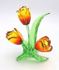 Swarovski Crystal Paradise Fower Tulips 5302530 Retired