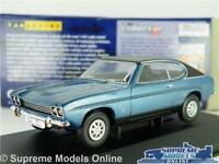 FORD CAPRI MK1 3000 GXL MODEL CAR BLUE 1:43 SCALE VANGUARDS VA13308 MARK ONE K8