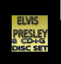 KARAOKE CDG  ELVIS  MUSIC MAESTRO  8   DISCS  120 SONGs