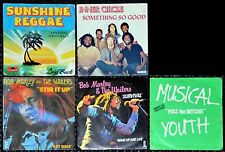 Lot 5 x 45t Reggae (Bob Marley, Inner Circle, Laid Back, Musical Youth) (sp)