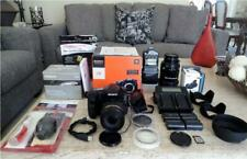 SONY SLT-A77 KIT ~ 24mp BODY + 18-270mm + 500mm LENS, 4 BATTERIES, FLASH, EXTRAS
