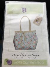"Quilts Illustrated Purse Shoulder Bag Pattern ps013 Camille's Bag 14""x14"""