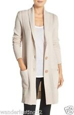 UGG® 'Hayley' Long Cardigan in Fresh Snow Heather - size M/L - LAST ONE!!