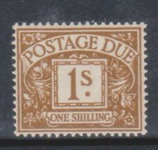 (K192-42) 1969 GB 1/- brown postage due (AQ)