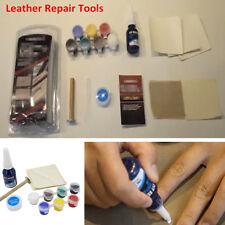 Leather Vinyl Repair Restoration Tool Kits For Car Seat Sofa Coats Holes Scratch