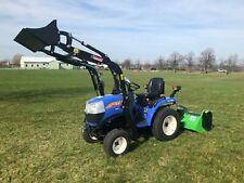 ISEKI Allrad Traktor Kompaktschlepper TM 3185 AL mit Frontlader, Mähwerk Mulcher